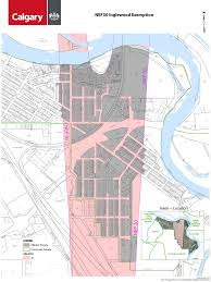 Calgary Map Engage Airport Vicinity Protection Area Exemption