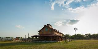 Texas Ranch House by Fredericksburg Barn Home Heritage Restorations