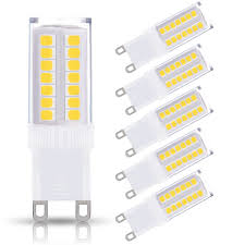 Bulbs For G9 Led Light Bulbs 5w 40w Halogen Equivalent 400lm Daylight