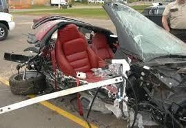 corvette car crash uncyclopedia how to crash your s corvette corvette