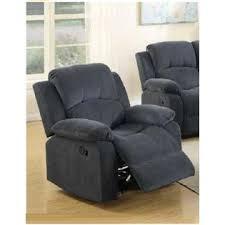 esofastore 3pc motion sofa set living room furniture blue gray