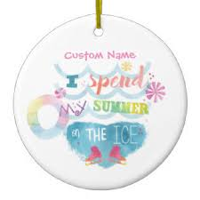 skates ornaments keepsake ornaments zazzle