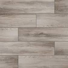 ms international redwood natural 6 in x 24 in glazed porcelain
