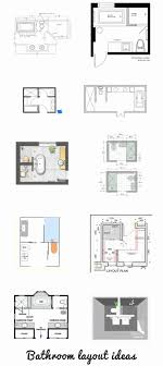 bathroom floor plans ideas small bathroom floor plans awesome the 25 best bathroom layout