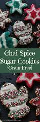 chai spiced sugar cookies kelley and cricket