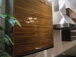 exotic wood kitchen cabinets exotic woods and veneers make a bold statement for kitchen