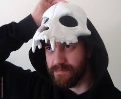 wolf skull mask u2013 red nebula studios