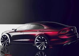 volkswagen lamando rumour next gen volkswagen jetta to be a larger four door coupe