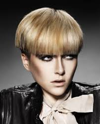 hair cuts all straight hair google short blonde straight multi tonal coloured bowl cut bob womens