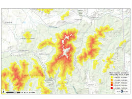 Stratton Mountain Map New Study Reveals Population Estimate And Abundance Map For Rare