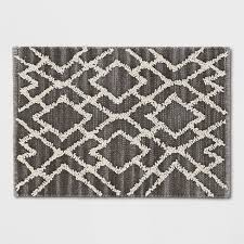 2 x 3 accent rugs gray crosshatch woven accent rug 2 x3 threshold target