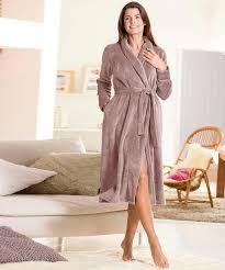 robe de chambre peluche femme robe de chambre polaire maille peluche belles robes