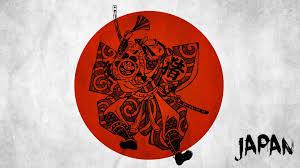 minimalism japan samurai hd wallpaper