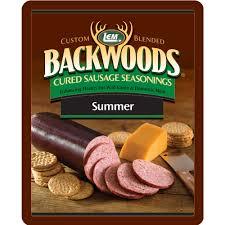 backwoods summer sausage cured sausage seasoning lem products