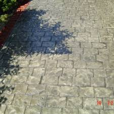 Concrete Patio Vs Pavers Outdoor Outstanding Sted Concrete Vs Pavers For Modern Outdoor