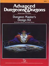 tsr 9234 ad u0026d dungeon master u0027s design kit