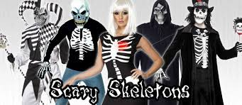 skeleton costumes mega fancy dress