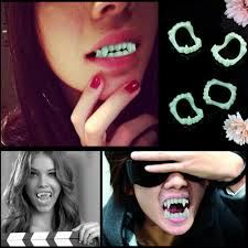 online get cheap vampire fang caps aliexpress com alibaba group
