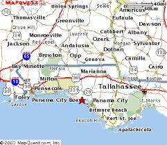 map of panama city surfside location maps