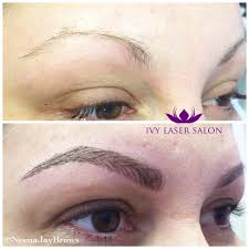 Semi Permanent Tattoo Eyebrows Microblading Semi Permanent Eyebrow Tattoo In Hair Like Strokes
