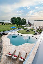 luxurious lakeside cabana relaxing retreat with scenic splendor