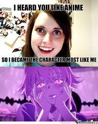 Possessive Girlfriend Meme - review oreshura episodes 1 6 3 3 forum anime news network