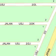 map usj 2 map of 63 jalan usj 2 2r 47600