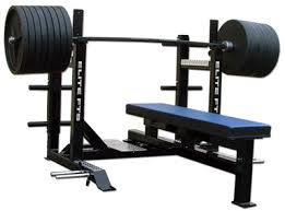 Workout Weight Bench A Very Nice Bench With Spotter Steps Can Take A Huge Amount Of