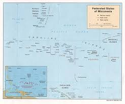 Map Of Northeast Us Micronesia Maps Perry Castañeda Map Collection Ut Library Online