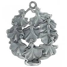 Pewter Christmas Ornaments Silver And Pewter Holiday Gifts