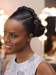 black bun hairstyles formal hairstyles for black women updos and long wavy black