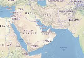 doha qatar map map of qatar michelin qatar map viamichelin