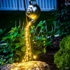 Solar Lights For The Garden Diy Waterdrop Solar Lights The Navage Patch