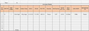 Free Employee Database Template In Excel by Free Templates Forms Sle Employee Database Excel