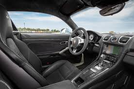 Porsche Cayman Interior Porsche Cayman S Exclusive Edition Adds Special Trim Inside And Out