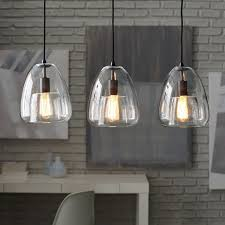 3 light pendant island kitchen lighting duo walled chandelier 3 light west elm