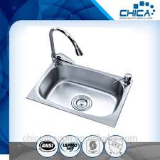 Deep Single Bowl Kitchen Sink by Malaysia Single Bowl Kitchen Sink Stainless One Piece Bathroom