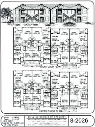 8 unit apartment building plans apartment building plans image for unit apartment building plans