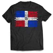 Dominican Republic Flags Dominican Republic Pastime Flag T Shirt U2013 Sports Swag