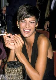 haircuts in 1988 linda evangelista style evolution the most stunning woman to walk