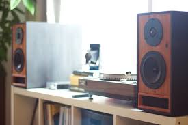 Bookshelf Speaker Sale Bookshelf Speakers In Ebony U0026 Redwood U2014 Salvage Audio