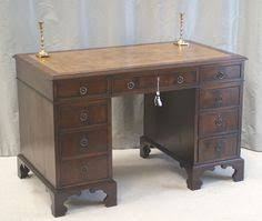 Small Mahogany Desk Beautiful And Totally Original Including The Black Writing
