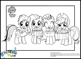 my little pony characters as humans coloring pages