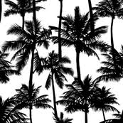 palm tree fabric wallpaper gift wrap spoonflower