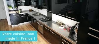plan de travail en inox pour cuisine fabricant plan de travail inox sur mesure finox plan de travail inox