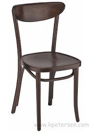 Bentwood Bistro Chair Oval Back Bentwood Cafe Side Chair