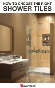 shower tiles how to pick the perfect tiles for your shower overstock com