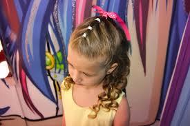 coiffure mariage enfant tuto coiffure enfant cérémonie facile