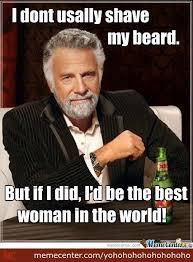 No Beard Meme - no beard no man by yohohohohohohohoho meme center