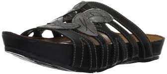amazon com kalso earth women u0027s enthuse sandal black 6 m us